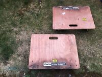 CLARKE TRACK PLATFORM enable to easy movement--- each £ 17, two of them £ 30