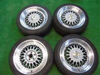 "BBS STYLE 17"" ALLOY WHEELS TO FIT VW GOLF MK4 5 x 100"