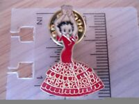 RARE BETTY BOOP SPANISH DANCING IN SPANISH DRESS - COLLECTABLE PIN