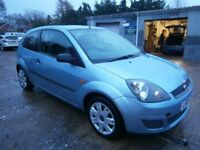 ** NEWTON CARS ** 06 FORD FIESTA 1.25 STYLE CLIMATE, 3 DR, GOOD OVERALL, FULL MOT SUPPLIED, CALL US