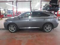 2013 Lexus RX 450h HYBRIDE LEATHER AND SUNROOF-DVD