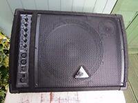 """Behring Eurolive F1220D 250-Watt Monitor Speaker - 12"""" Woofer + leads"""