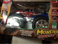 Unwanted Gift NEW RC 4x4 Monster Wheel Truck NOW £50