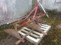 Massey Ferguson drill plough