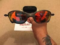 Oakley Juliet Xmetal with Fire Iridium Lenses