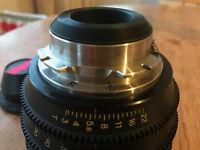 Digioptical 18-50 mm lens pl mount zoom mint condition