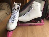Ladies and kids figure skates.