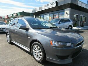 2011 Mitsubishi Lancer SE Hatch Back Sunroof (40$/week O.A.C.)