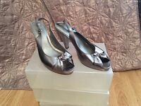 Sliver shoes size 7