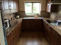Complete kitchen including granite work tops and some appliances