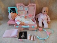 My First Baby Annabell - Medical Care Kit and 2 Annabell Dolls