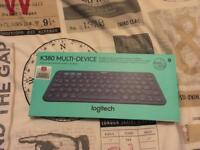 Logitech K830 Bluetooth Keyboard Boxed