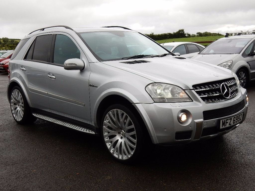 2007 mercedes ml 6 3 amg v8 motd until dec 2016 full history stunning jeep a must see in. Black Bedroom Furniture Sets. Home Design Ideas
