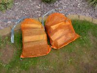 Seasoned Firewood Bags