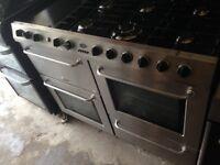Belling Range gas cooker 100cm..mint free delivery