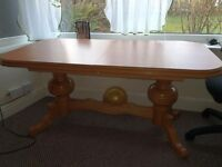 Extending table/coffee table
