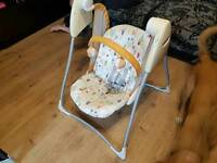 Graco battery operated baby swing seat