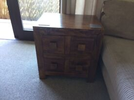 Solid Mango Wood small side table