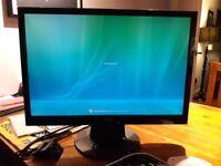 22 inch Fujistu Seimens LCD colour monitor