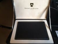 BNIB Premium Belgian Leather Passport Cover - Knights & Walker London