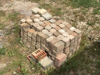 400+ block paving stones (10x10cm)