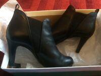 Elegant high heels boots,CLARKS