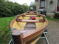 Sheelin Loch Boat