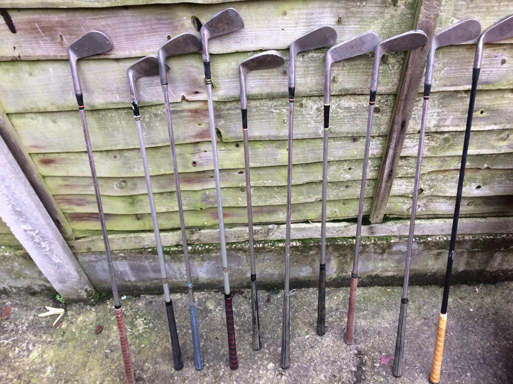 Golf clubs x10 £30