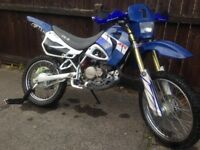 AJS YX-R 125 AIR COOLED BRAND NEW 600 miles done