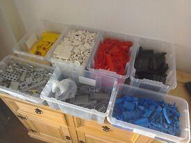 Lego Bundle Joblot 9kg Total Mixed Brick mixed sizes mixed colours