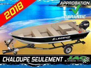 2018 Legend Boats Chaloupe 14 WideBody bateau pêche Chaloupe seu