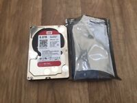 WD RED 6TB HDD HARD DRIVE - BRAND NEW
