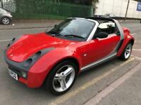 2004 SMART ROADSTER 80 AUTO AUTOMATIC. 700cc PETROL TURBO ENGINE. 2 OWNERS. SERVICE HISTORY. FUN CAR