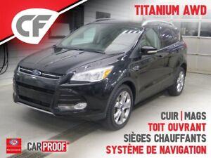 2014 Ford Escape Titanium AWD, GPS, SIÈGES CHAUFFANTS