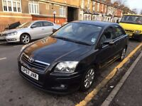 TOYOTA AVENSIS TR 1.8 VVT-I PETROL BLACK SATNAV FULL SERVICE HISTORY, 2 OWNERS, CLEAN INSIDE AND OUT