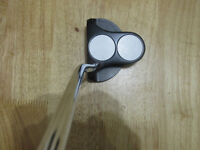 ODYSSEY METAL X 2 BALL PUTTER WITH COVER AND SUPERSTROKE GRIP