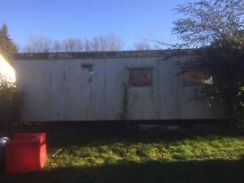 Caravan available for scrap
