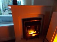 electric fire and surround £75
