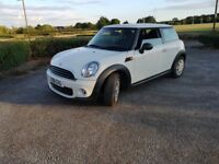 2011 Mini hatch first 1.6 Petrol, manual