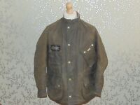 Barbour International Accolade Wax Motorcycle Jacket Steve Mcqueen ISDT
