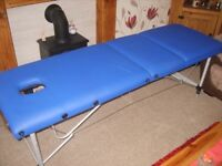 massage table, brand new