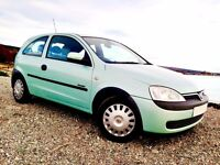 Low Mileage Corsa. Long MOT. Immaculate Condition. Great Price. Drives Excellent.