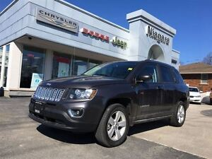 2016 Jeep Compass HIGH ALTITUDE,LEATHER,HTD SEATS,ALLOYS