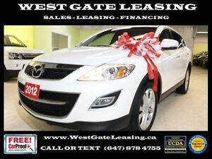 2012 Mazda CX-9 GT | LEATHER | SUNROOF | 7 PASSENGER |