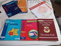 A selection of Key stage 2 revision books