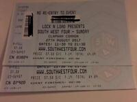 South west four 2 x tickets (Sunday)
