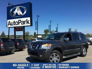 2012 Nissan Armada Platinum | Heated Leather | Sunroof | Backup