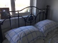 And So To Bed kingsize Bed Bed knobs and broomstick style 5ft