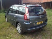 Citroen GRAND C4 PICASSO 1.6 VTi 16v VTR+ 7 SEATS, FULL SERVICE HISTORY 8 STAMPS, 2 FORMER KEEPERS