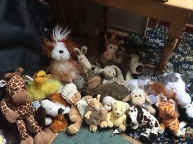 Jo lot stuffed animal toys